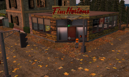 Tim Hortons in Second Life