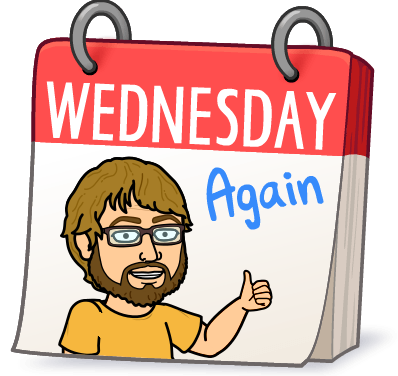 It's Wednesday again…. March 7